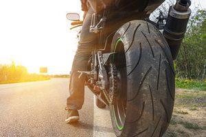 Auch beim Motorrad ist die Probefahrt unerlässlich.
